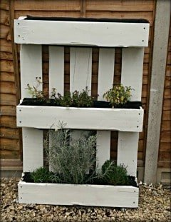 Pallet Garden Ideas easy steps to making your own pallet planter the micro gardener wwwthemicrogardener Pallet Garden Ideas Pallet Herb Garden
