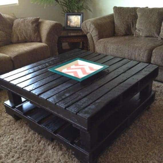 Build Coffee Table From Pallets: Pallet Coffee Tables