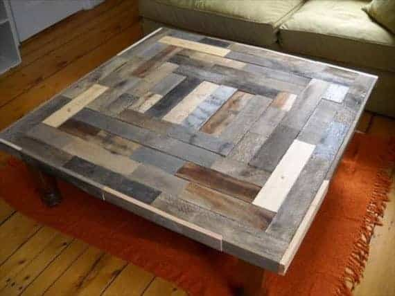 Pallet Coffee Table 5