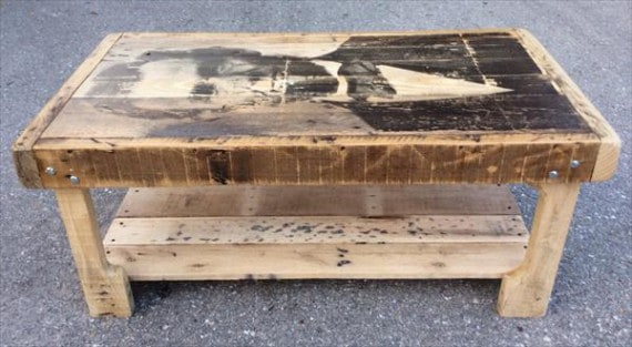 Pallet coffee tables Where can i buy reclaimed wood near me