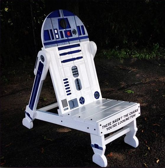 r2d2 pallet chair for kids