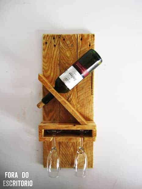 single wine rack