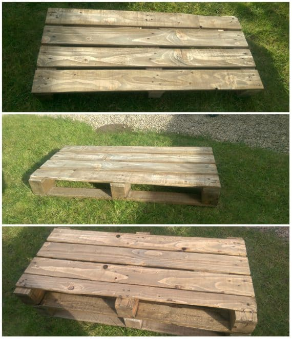 stained pallet