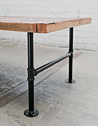 How to Give Your Pallet Projects The WOW Factor : pipe table legs from woodenpalletprojects.com size 400 x 512 jpeg 188kB