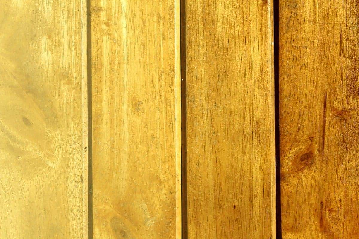 stained wood boards