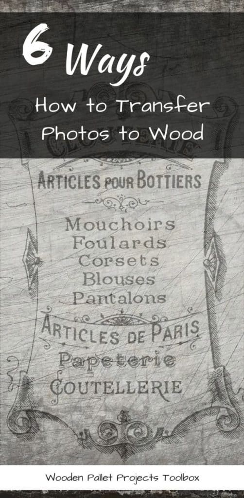 6 Ways How to Transfer Photos to Wood
